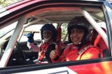 Gerry Rosanto menangi kejurnas Time Rally 2018