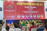 Pemimpin Redaksi Lampung Post raih gelar doktor