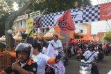 Pos Indonesia touring pawai obor Asian Games