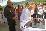 Uskup Merauke resmikan rumah studi duta damai Jayapura