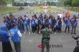 Peserta SMN Aceh di Rindam Cenderawasih