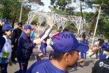 Agnes bawa obor Asian Games di Palembang