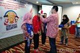 BUMN Hadir - ASKRINDO kenalkan Budaya Dayak pada siswa Yogyakarta