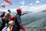 PWI kampanyekan aman berlayar di danau Toba