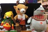 Berburu boneka maskot Asian Games 2018