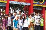 Asian Games (serba serbi) - Wisatawan Pakistan nikmati keindahan pulau Kemaro