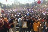 Ribuan mahasiswa IPB bentuk 55 formasi dalam 2 menit