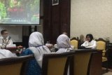 BUMN HADIR - Peserta SMN Sumsel temui wali kota Surabaya