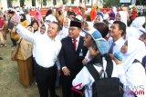 BUMN Hadir - Ribuan masyarakat Sawahlunto antusias ikuti jalan sehat