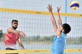 Asian Games - Tim voli pantai putra Oman menang mudah