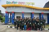 BUMN Hadir - Peserta SMN jelajahi gedung Bintan Expo Centre