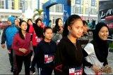 Ratusan pelari empat kota ramaikan 'Funrun' Sampit