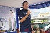 Transmigran asal Yogyakarta menunggu jadwal pemberangkatan