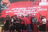 Megawati: Banyak artis dengan kesadarannya pilih PDIP