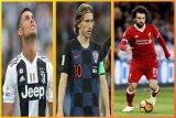 Ronaldo, Modric dan Salah berebut jadi pemain terbaik FIFA
