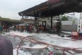 Inilah pemicu terbakarnya SPBU Sawahan Padang