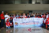 BUMN Hadir : Peserta SMN dari NTB tiba di Tanjungpinang