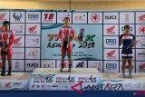 Indonesia raih tiga emas Kejuaraan Asia Track 2018 di India