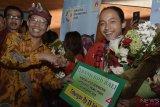 Penyambutan Atlet Asian Games Asal Bali