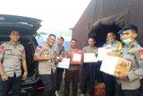 Dansat Brimob  cek kondisi personelnya di Lombok