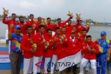 Asian Games - Menanti Indonesia Raya di stadion dayung Jakabaring