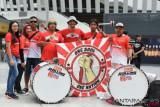 Serba-serbi piala U-16: Merah putih raksasa dan tabuhan drum di Malaysia