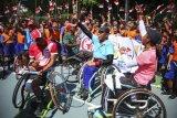 Siswa dukung para atlet Asian Para Games