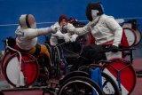 Pelatnas anggar kursi roda