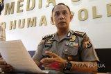 Polisi olah TKP kebakaran pasar perbatasan Skouw-Wutung