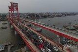 Jembatan Ampera ditutup saat deklarasi keselamatan berkendara