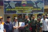 Korem 032 Wirabraja bantu warga terdampak banjir Pasaman Barat