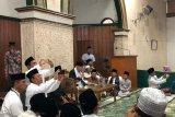 Ma'ruf Amin silaturahmi ke Ponpes Miftahul Huda Tasikmalaya