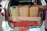 Polisi tetapkan tersangka penyeludupan BBM dengan tangki mobil modifikasi