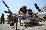 13 mahasiswa berhasil ciptakan dua jenis robot terbang