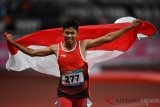 Asian Para Games - Purnomo wins gold, breaks Asian record
