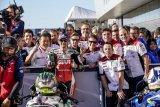 Crutchlow absen di GP Australia karena patah pergelangan kaki