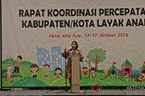 128 kabupaten/kota ikuti program percepatan Kota Layak Anak