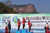 Hinayah raih perunggu turnamen Climbing master di China