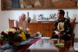 Presiden Jokowi bertemu dengan Wan Azizah di Istana Bogor