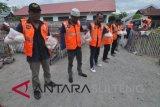 Warga binaan pemasyarakatan rutan Palu jadi relawan