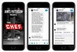 James Patterson rilis novel di Facebook Messenger