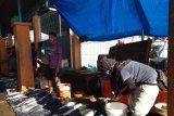 Turun, pendapatan penjual ikan di Kendari