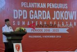 Antasari Azhar lantik Garda Jokowi Sumsel