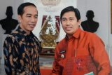 Ketemu Presiden, Bupati Banggai lapor siap laksanakan Hari Nusantara 2018