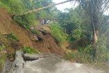 Jalan Baringin menuju Talao Agam terban