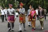 Ibu Negara Iriana diangkat sebagai Ratu Indoman Komering