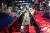 Ikan laut di Palu masih sepi pembeli