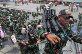 450 prajurit TNI-AD diberangkatkan ke perbatasan Papua