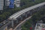 Anggaran untuk transportasi kereta ibu kota baru capai Rp209,6 triliun