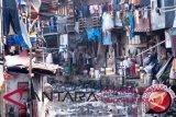 Pemukiman kumuh di Batua percontohan